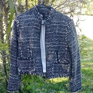 DALIA zipper front jacket size 8